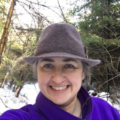 A walk in the woods with Saranne