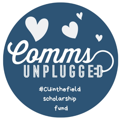 #CUinthefield scholarship fund logo