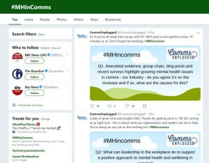 #MHincomms trending