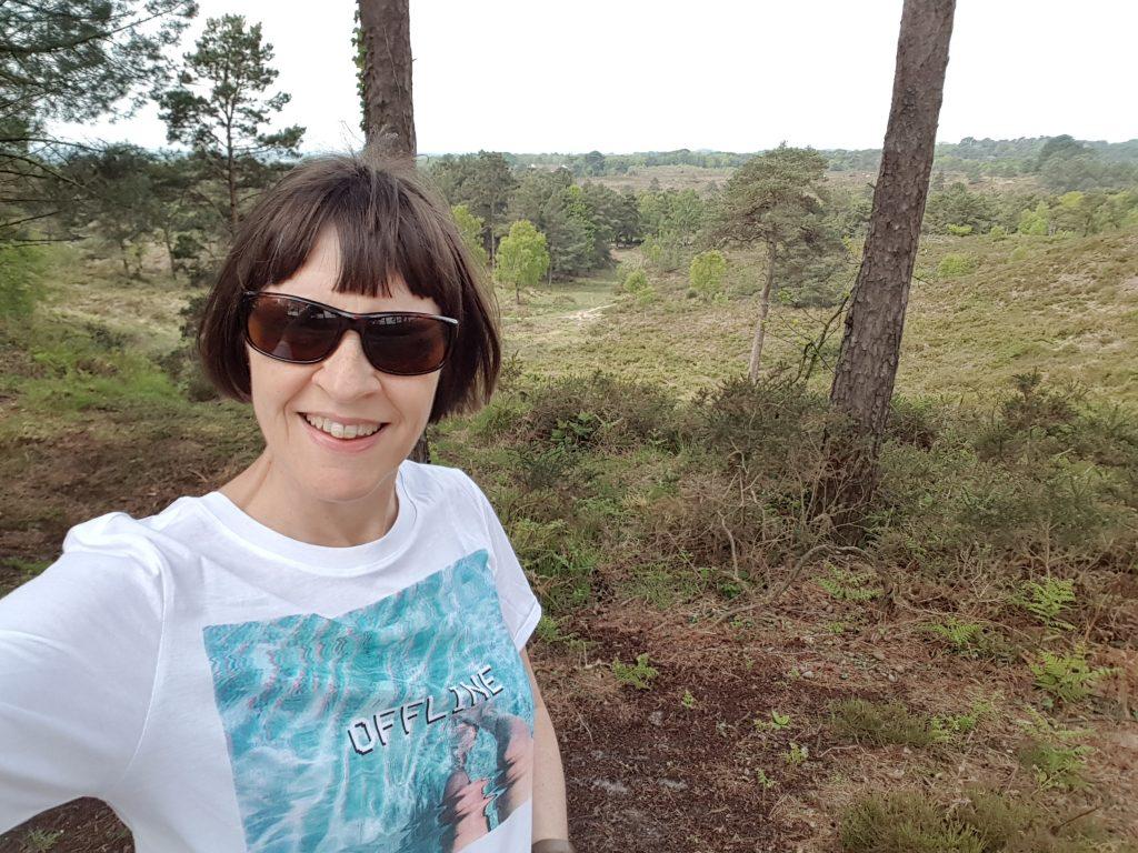 Sally offline on the heath