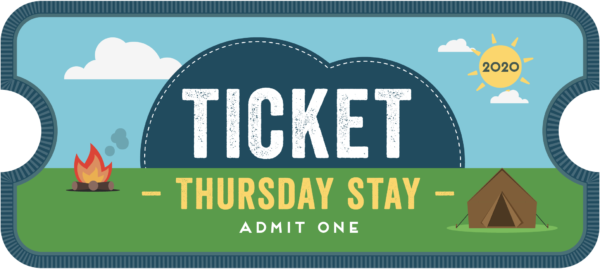 CU20 Thursday stay ticket