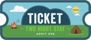 CU20 2 night ticket