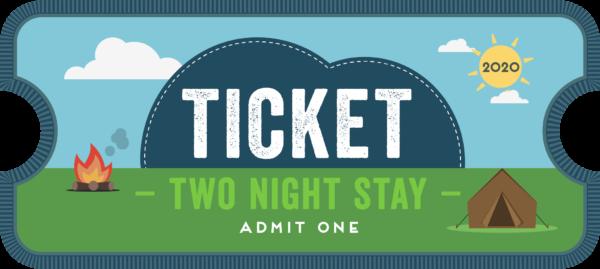 CU20 2 night ticket