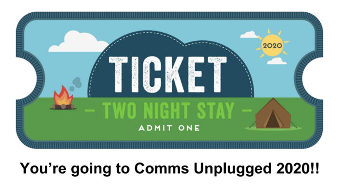 CU20 two day ticket