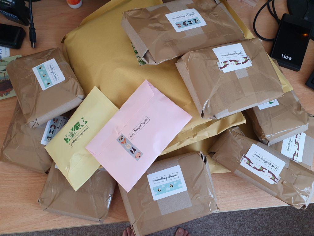 #somethinginthepost parcels