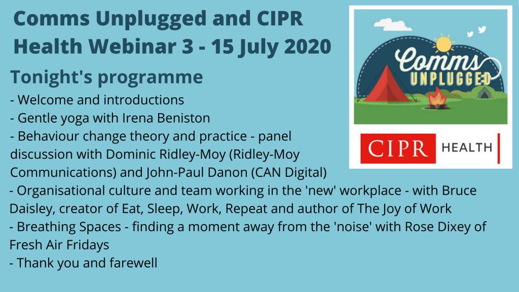 CU CIPR webinar 3 programme