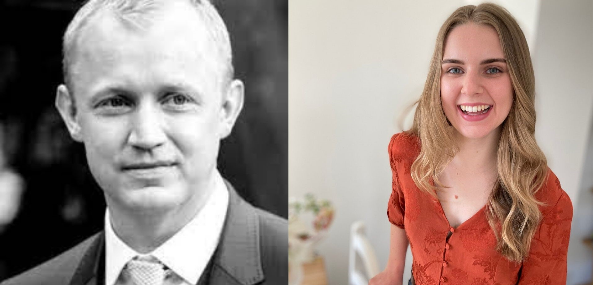 Alan Oram and Lauren Castle
